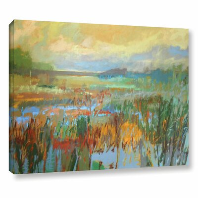 Marsh in May Painting Print on Wrapped Canvas