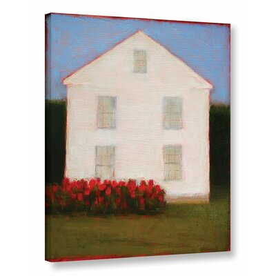 White House Original Painting on Wrapped Canvas
