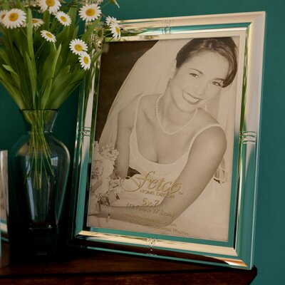 Kingston Wedding Picture Frame Size: 5 H x 7 W