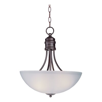 Garfield 3-Light Pendant Finish: Oil Rubbed Bronze