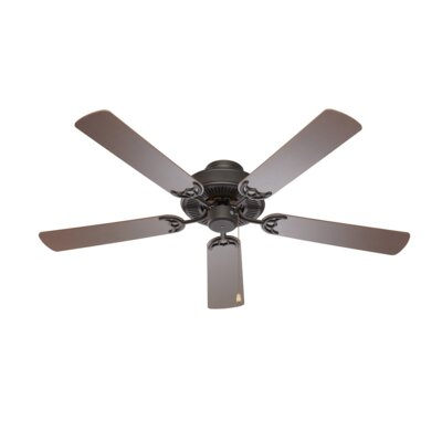 52 Leesburg 5-Blade Ceiling Fan Finish: Brushed Nickel