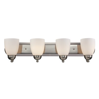 Enmore 4-Light Vanity Light Finish: Rubbed Oil Bronze