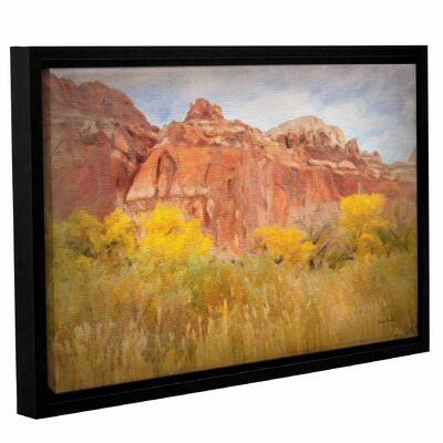Southwest Splendor Framed Painting Print on Wrapped Canvas Size: 12