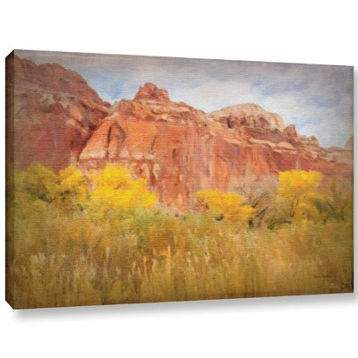 Southwest Splendor Painting Print on Wrapped Canvas Size: 12