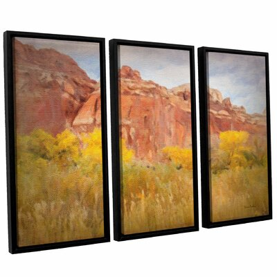 Southwest Splendor 3 Piece Framed Painting Print on Canvas Set Size: 24