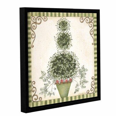 Topiary 2 Framed Painting Print on Wrapped Canvas