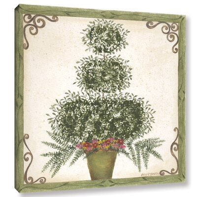 Topiary 3 Painting Print on Wrapped Canvas