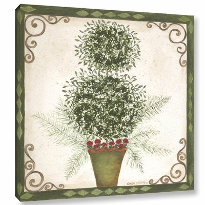 Topiary 4 Painting Print on Wrapped Canvas