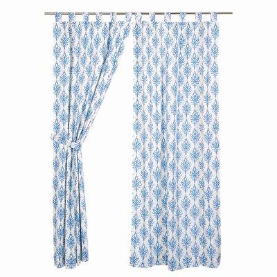 Reginald Lined Geometric Curtain Panels