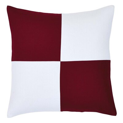 Riverdale Patchwork 100% Cotton Throw Pillow