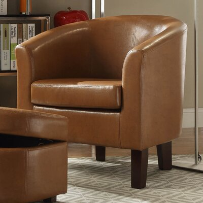 Altoga Barrel Chair and Storage Ottoman