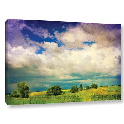 Mighty Clouds Photographic Print on Wrapped Canvas