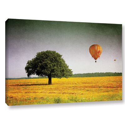 'Wings of October' Photographic Print on Wrapped Canvas Size: 12