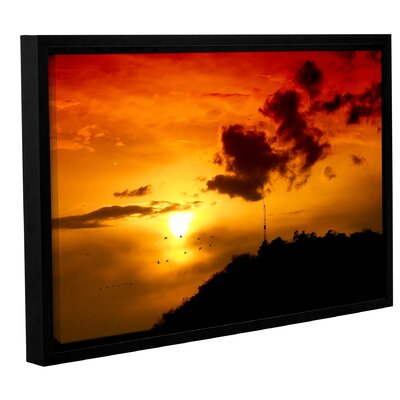 Sky Framed Photographic Print on Wrapped Canvas