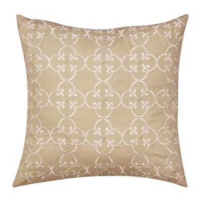 Appleton Square Embroidered Medallion Cotton Throw Pillow