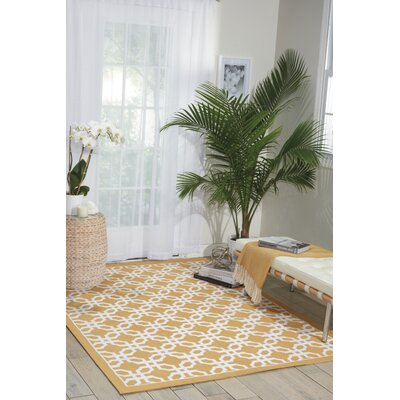 Wynwood Gold Area Rug Rug Size: Rectangle 23 x 39
