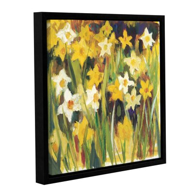 The Color of Spring Framed Painting Print on Wrapped Canvas Size: 10