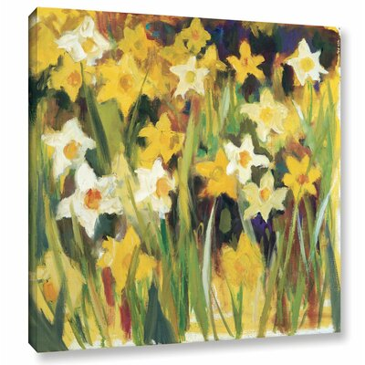 The Color of Spring Painting Print on Wrapped Canvas Size: 10