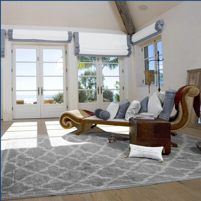 Westwood Gray Area Rug Rug Size: Rectangle 33 x 5