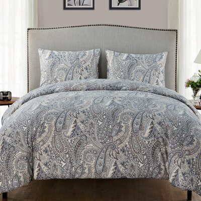 Briar Ridge 3 Piece Duvet Set Size: King