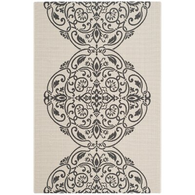 Broadview Gray Area Rug Rug Size: 4' x 5'7