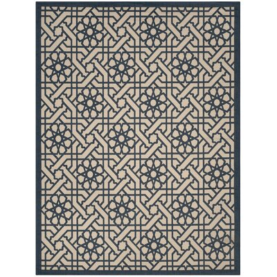 Triumph Mariner Outdoor Area Rug Rug Size: 53 x 77