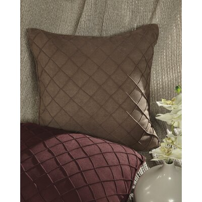 Brook Farm Throw Pillow Color: Brown