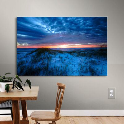 Sunset Photographic Print on Wrapped Canvas
