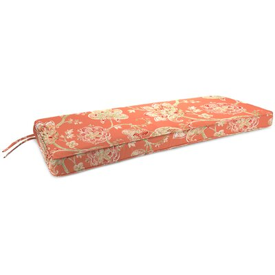 Indoor Bench Cushion Fabric: Jubilant Blossom