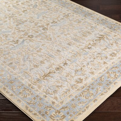 Brooks Farm Beige Area Rug Rug Size: Rectangle 5' x 7'6