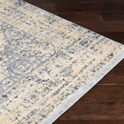 Brooks Farm Beige Area Rug Rug Size: Rectangle 5 x 76