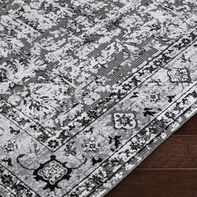 Brooks Farm Gray Area Rug Rug Size: Rectangle 8 x 10