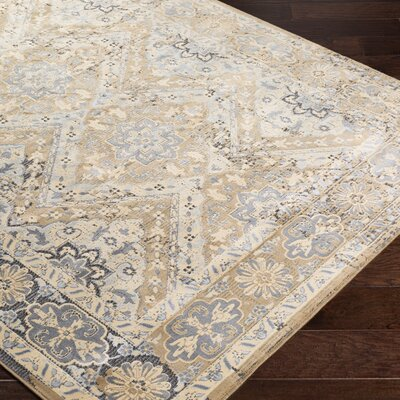 Brooks Farm Beige Area Rug Rug Size: Rectangle 8 x 10