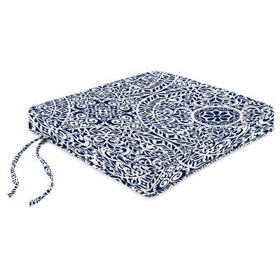 Indoor Chair Cushion Fabric: Tachenda Indigo