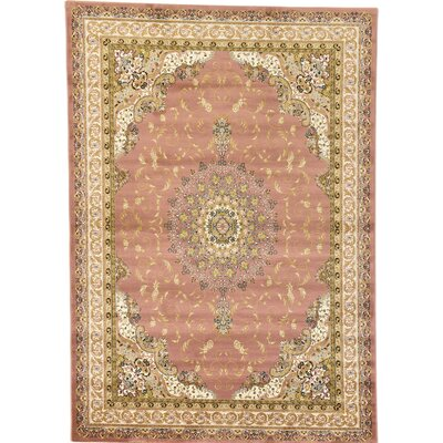 Conlan Pink/Brown Area Rug