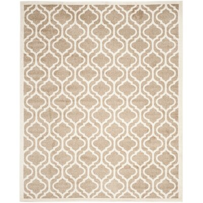 Carman Wheat/Beige Area Rug Rug Size: 5 x 8