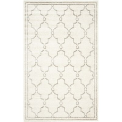 Carman Ivory/Light Gray Area Rug