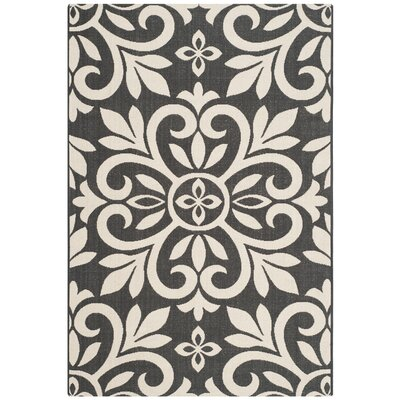 Bloomfield Black/Ivory Area Rug Rug Size: 8 x 112