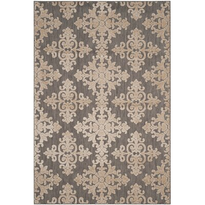 Bryan Taupe Area Rug Rug Size: Rectangle 53 x 77