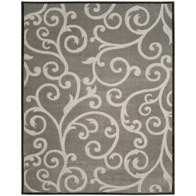 Bryan Gray Indoor/Outdoor Area Rug Rug Size: 53 x 77