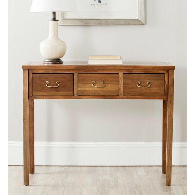 Robinwood Console Table Color: Walnut