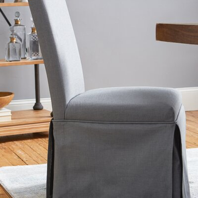 Babham Parsons Chair (Set of 2) Upholstery: Grey