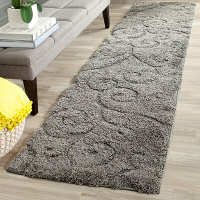 Rowes Swirl Gray Area Rug