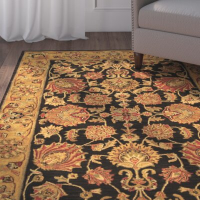 Cranmore Charcoal/Gold Area Rug