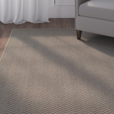 Carrow Gray Indoor/Outdoor Area Rug