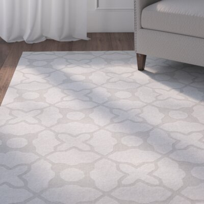 Opal Modern Silver Area Rug Rug Size: Rectangle 4 x 6