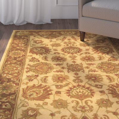 Cranmore Ivory/Brown Area Rug