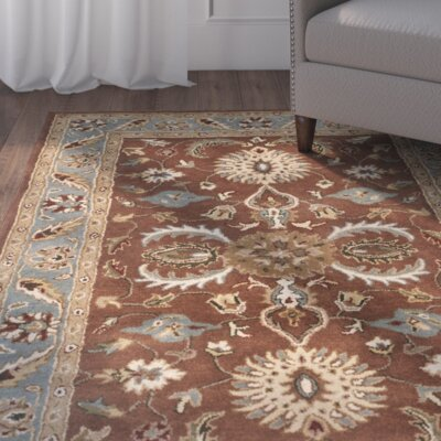 Cranmore Brown & Blue Area Rug