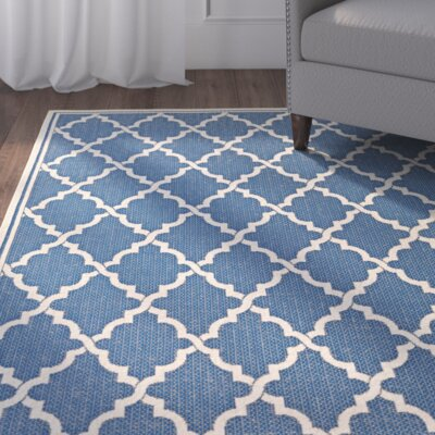 Cardwell Blue Area Rug