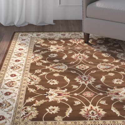 Ottis Brown/Ivory Persian Area Rug